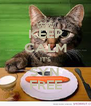 KEEP CALM IT'S SYN FREE - Personalised Poster A4 size