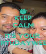 KEEP CALM  IT'S YOUR  BIRTHDAYWEEK - Personalised Poster A4 size