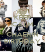 KEEP CALM ITS CHAERIN BIRTHDAY - Personalised Poster A4 size