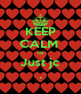 KEEP CALM  its Just jc . - Personalised Poster A4 size