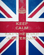 KEEP CALM IT'S  KAT'S HEN DO! -AMSTERDAM- - Personalised Poster A4 size