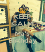 KEEP CALM Its  Ma's Birthday - Personalised Poster A4 size