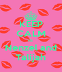 KEEP CALM its  Nenzel and Talijah - Personalised Poster A4 size