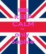 KEEP CALM its  only  Sophie - Personalised Poster A4 size