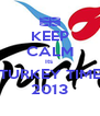 KEEP CALM Its  TURKEY TIME 2013 - Personalised Poster A4 size