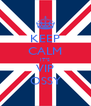 KEEP CALM IT'S VIP OSSY - Personalised Poster A4 size