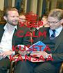 KEEP CALM JA KUSETA KANSAA - Personalised Poster A4 size