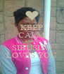 KEEP CALM Jabulile SIBUSISO LOVES YOU - Personalised Poster A4 size