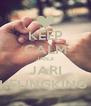 KEEP CALM JANJI JARI KELINGKING  - Personalised Poster A4 size