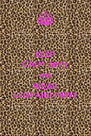 KEEP CALM Jenny AND WEAR LEOPARD PRINT - Personalised Poster A4 size