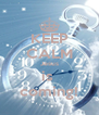 KEEP CALM Jesus is  coming! - Personalised Poster A4 size