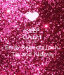 KEEP CALM Just Ask Emily,Rebecca,Josh Tia and Niamh - Personalised Poster A4 size