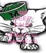 KEEP CALM JUST DRESS to  IMPRESS - Personalised Poster A4 size