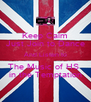 Keep Calm Just Join to Dance And Listen to The Music of HS  in the Temptation - Personalised Poster A4 size