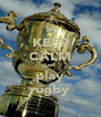 KEEP CALM Just  play rugby - Personalised Poster A4 size