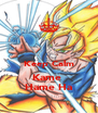 Keep Calm Kame  Hame Ha - Personalised Poster A4 size
