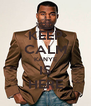 KEEP CALM KANYE IS HERE - Personalised Poster A4 size