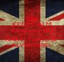 KEEP CALM Karel and BD Always Belong to  KARELSWAG &  ALWAYSBD  - Personalised Poster A4 size