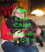 KEEP CALM Katherine  the Poodles will FIX it - Personalised Poster A4 size