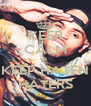 KEEP CALM & KEEP HATEN HATERS - Personalised Poster A4 size