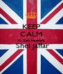 KEEP CALM Ki Zeh Haprofil  Shel Jaffar  - Personalised Poster A4 size
