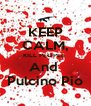 KEEP CALM, KILL PEOPLE  And  Pulcino Pio - Personalised Poster A4 size