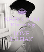 KEEP CALM  Klaire Ng AND LOVE  LU HAN - Personalised Poster A4 size