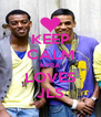 KEEP CALM KYRA LOVES JLS - Personalised Poster A4 size