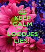 KEEP CALM  LAATSTE LOODJES LIES!  - Personalised Poster A4 size