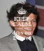 KEEP CALM Layne has dibs on Louie! - Personalised Poster A4 size