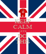KEEP CALM LETS DO  THIS - Personalised Poster A4 size