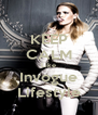 KEEP CALM Like Invogue Lifestyle - Personalised Poster A4 size