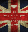 Keep calm & like parce que  les 1D  ont changé  ma vie  - Personalised Poster A4 size