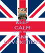 KEEP CALM LOOK BACK AND LOVE KITTENS - Personalised Poster A4 size