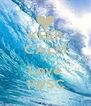 KEEP CALM & Love 1WSC - Personalised Poster A4 size