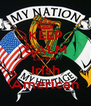 KEEP CALM Love A Irish American - Personalised Poster A4 size