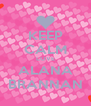 KEEP CALM LOVE ALANA BRANNAN - Personalised Poster A4 size