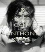 KEEP CALM LOVE  ANTHONY KIEDIS  - Personalised Poster A4 size