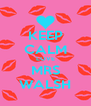 KEEP CALM LOVE MRS WALSH - Personalised Poster A4 size