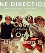 Keep Calm & Love  One Direction !  - Personalised Poster A4 size