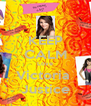 KEEP CALM Love Victoria  Justice - Personalised Poster A4 size