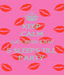 KEEP CALM LUCY,BRIDE & NAT 5 SLEEPS TILL PARTY - Personalised Poster A4 size