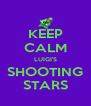 KEEP CALM LUIGI'S SHOOTING STARS - Personalised Poster A4 size