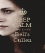 KEEP CALM Luke Love's Bell's Cullen - Personalised Poster A4 size