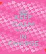 KEEP CALM MACEY'S IN CHARGE - Personalised Poster A4 size