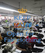 KEEP CALM Make Eyes  Open for   Fair clothing - Personalised Poster A4 size