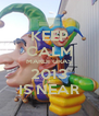 KEEP CALM MARDI GRAS 2013 IS NEAR - Personalised Poster A4 size