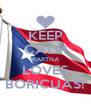 KEEP CALM MARTHA LOVES BORICUAS! - Personalised Poster A4 size