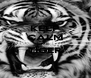 KEEP CALM ME TIGER  - Personalised Poster A4 size