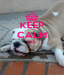 KEEP CALM MIA   - Personalised Poster A4 size